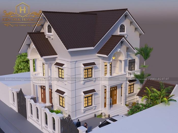 Mẫu nhà 2 tầng mái Thái ở nông thôn và những điều cần lưu ý