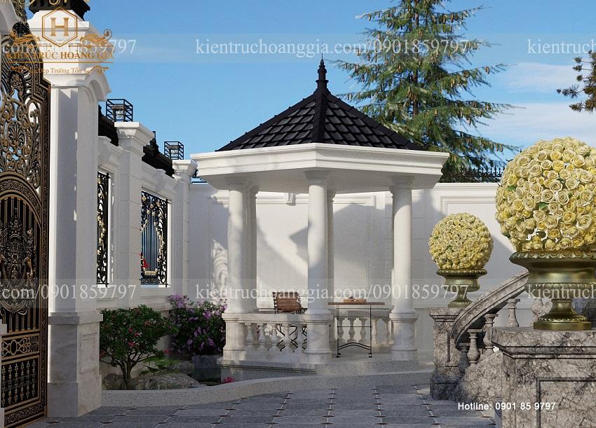 Kinh nghiệm thiết kế chòi nghỉ sân vườn, tô điểm không gian quanh nhà thêm thú vị