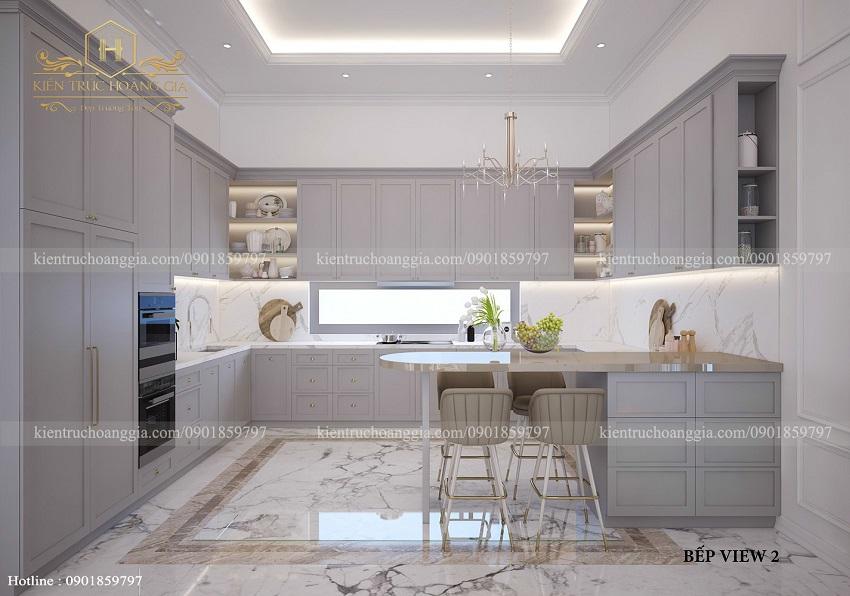 Diện tích phòng bếp bao nhiêu m2 là hợp lý và đúng phong thủy