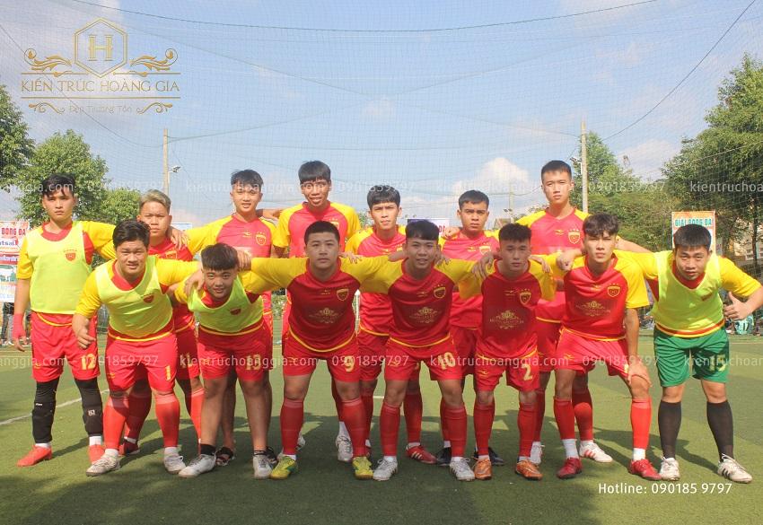 Đội bóng Kiến Trúc Hoàng Gia tham dự giải fusal mừng xuân Tân Sửu 2021 tại Phước Long, Bình Phước