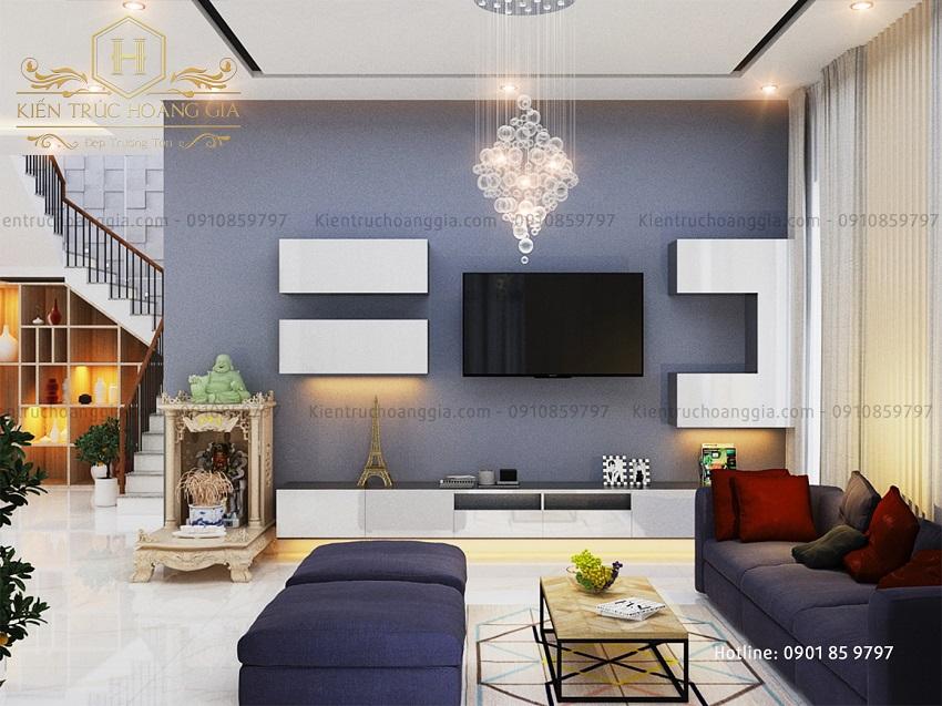 Kệ tivi phòng khách và phòng ngủ - Yếu tố sáng tạo nên nghệ thuật nội thất