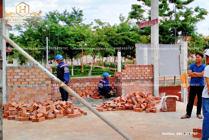 Kỹ thuật xây tường gạch