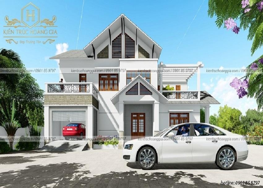 Thiết kế nhà có gara ô tô vô cùng tiện dụng theo kinh nghiệm từ chuyên gia