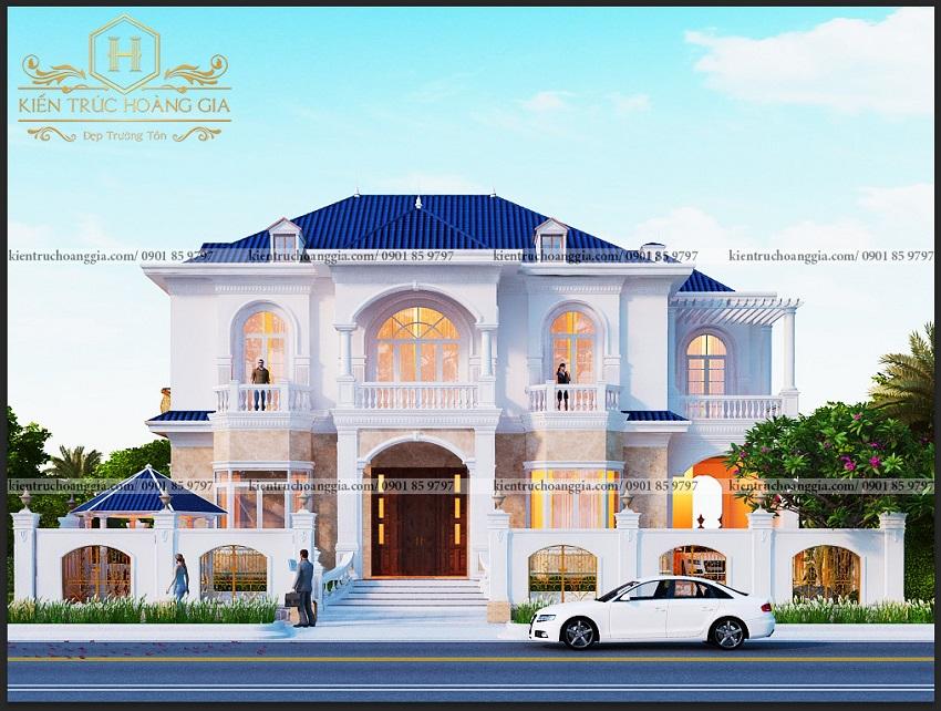 Những mẫu nhà mái Thái 2 tầng đẹp lộng lẫy ở Long An, Bình Phước, Tiền Giang