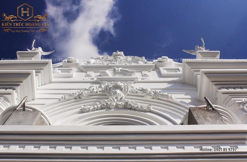Phù điêu yếu tố không thể thiếu ở các công trình kiến trúc cổ điển