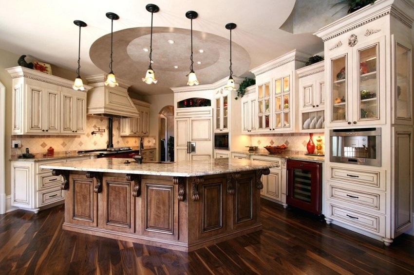 Quầy bar bếp xu hướng tạo ấn tượng cho không gian nội thất