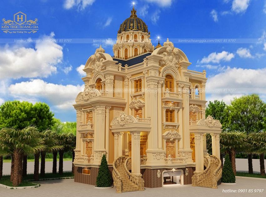 Kiến Trúc Hoàng Gia chuyên gia thiết kế lâu đài dinh thự đẹp tại Đông Nam Bộ