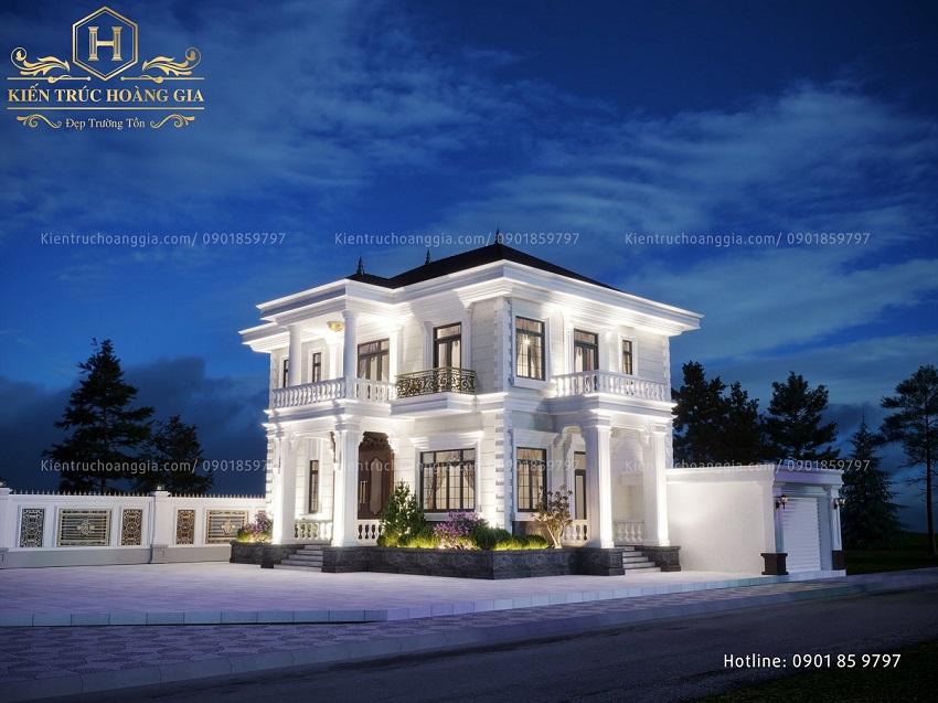 Mẫu thiết kế Biệt Thự đẹp tại Long An, Bến Tre, Tiền Giang