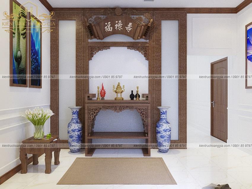 Ý tưởng thiết kế và trang trí phòng thờ đúng phong thủy cho mọi gia đình.