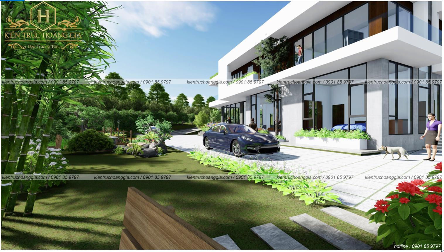 Biệt thự sân vườn ven suối anh Thắng Vũng Tàu