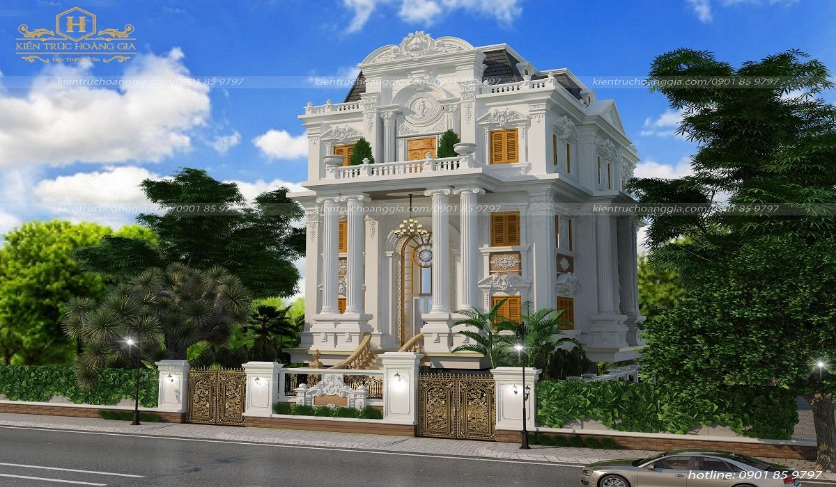 Biệt thự cổ điển phong cách châu Âu anh Minh Đồng Nai