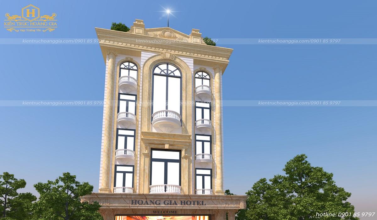 Khách sạn 5 tầng chị Trinh Bà Rịa Vũng Tàu