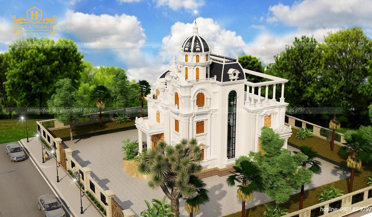 Lâu đài 3 tầng anh Dũng Tây Ninh