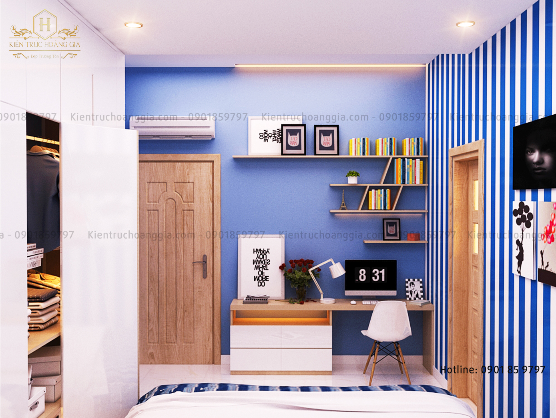 Nội thất hiện đại của biệt thự 2 tầng 3 phòng ngủ