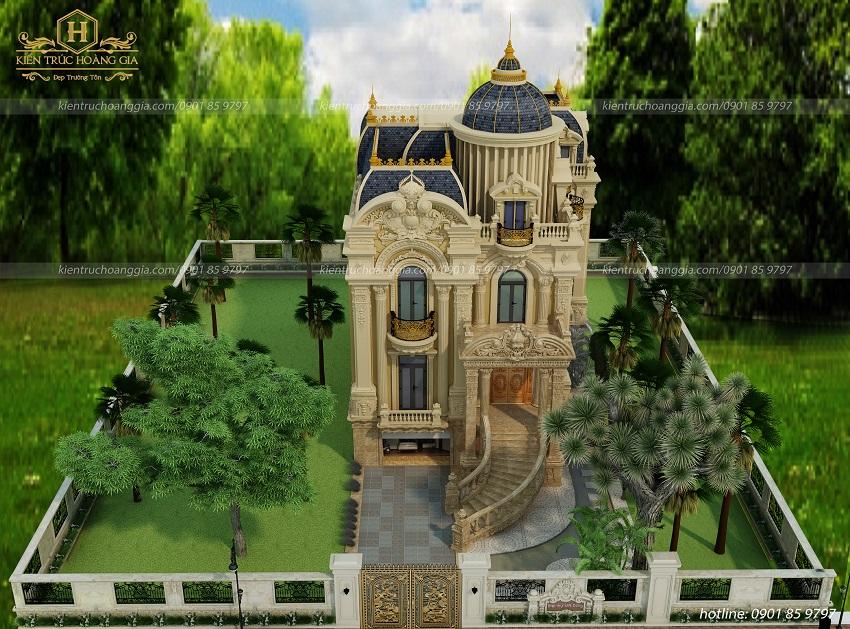 Lâu đài cổ điển châu Âu anh Dũng Bình Dương