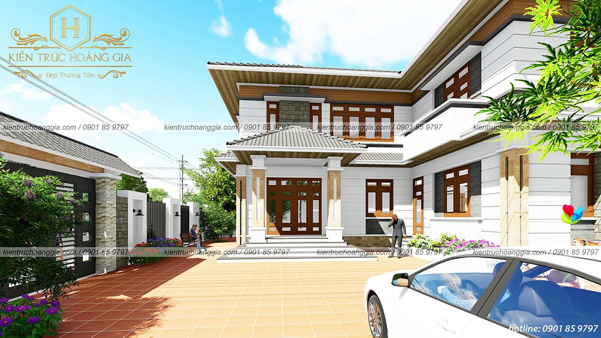 Biệt thự sân vườn hồ bơi chú Hưng Đồng Nai