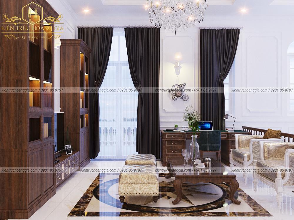 Nội thất biệt thự nhà vườn 3 phòng ngủ tại Phước Long